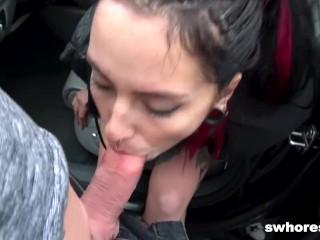 Alternative Punk Street Whore Fucked for e50