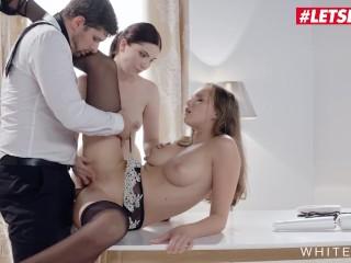 WhiteBoxxx – Stacy Cruz And Mia Evans Beautiful 18 Years Old Czech Erotic Threesome Sex
