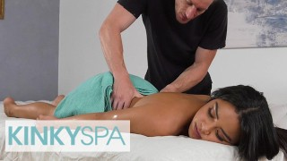 Kinky Spa - Sexy Maya Bijou Visits A Massage Parlor And Gets A Special Sexual Treatment