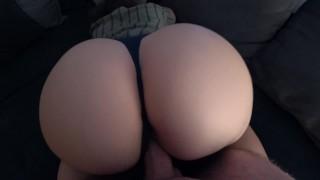 Big Butt Twerking Girl Makes Him Cum Fast - Twerk On Dick