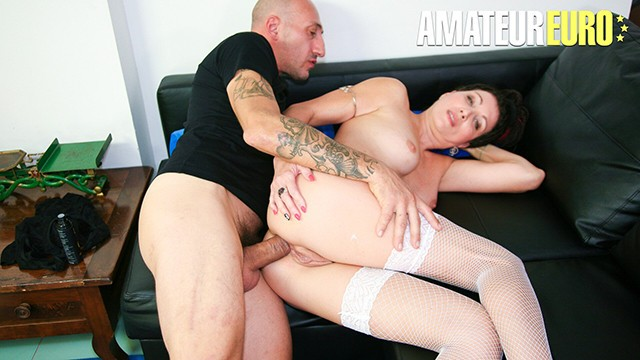 CastingAllaItaliana - Sissy Neri Italian Mature Takes Thick Cock In Her Tight Ass