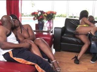 African foursome xxx...