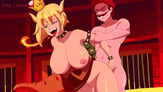 Bowsette Fucked By Mario (All Characters are over 18)