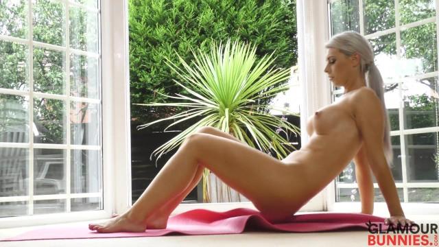 Nude Yoga Session With Sam Jones 38