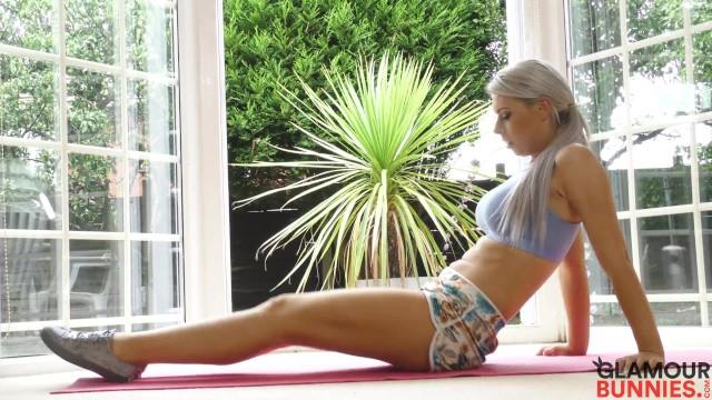 Nude Yoga Session With Sam Jones 19