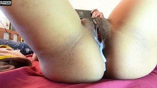 Thai Gamer Girl Gets Massive Creampie Fucked While She Plays