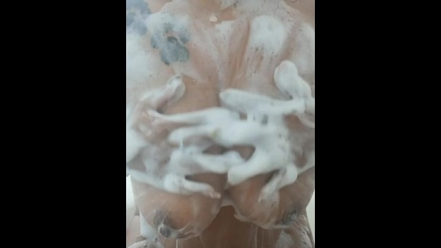 Soapy tits, how dirty girls get clean. 1