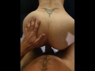 Pov squirting pawg milf doggystyle quick hard fuck...