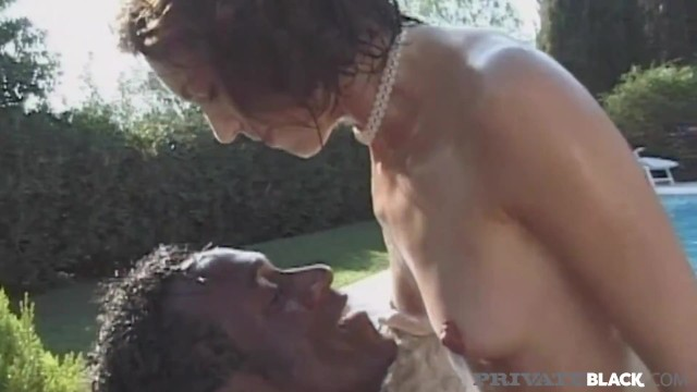PrivateBlack - Cock Craving Colette Fucked Outdoors By BBC!