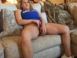 Saturday XXX Masturbation Porn Flick Clip Hot Natural Real Big Tit Blonde MILF