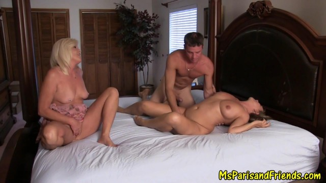 I'm Banging Her Friend and StepMom Cums in to Watch