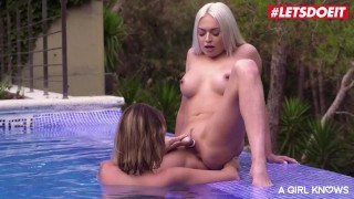 AGirlKnows - Lena Love And Lya Missy Czech Babes Most Intense Lesbian Outdoor Fucking