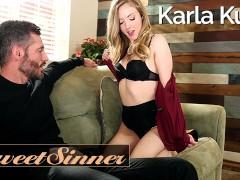 SweetSinner - Maried Milf Karla Kush cucks husband for fit big cock