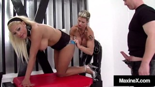 Asian Milf Maxine X Tied & Drilled By Goddess Heather & Dick