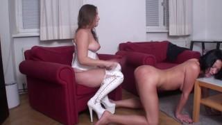 girl girl whipping