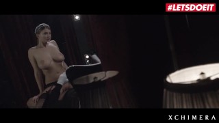 XChimera - Big Tits Czech Babe Lucy Li Rides Big Cock - LETSDOEIT