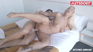 BitchesAbroad - Big Tits Argentinian Blondie Fesser Fucked Hard In Her Trip To Spain - LETSDOEIT