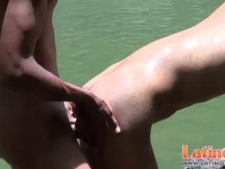 Latin pops for his mate outdoors...