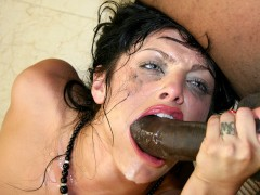 Naughty Sadie West Striptease That Black Dude To Fuck Her Hard