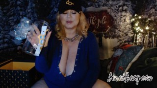 porn hub awards gift box unboxing & xmas members live cam show archive of Samantha38g