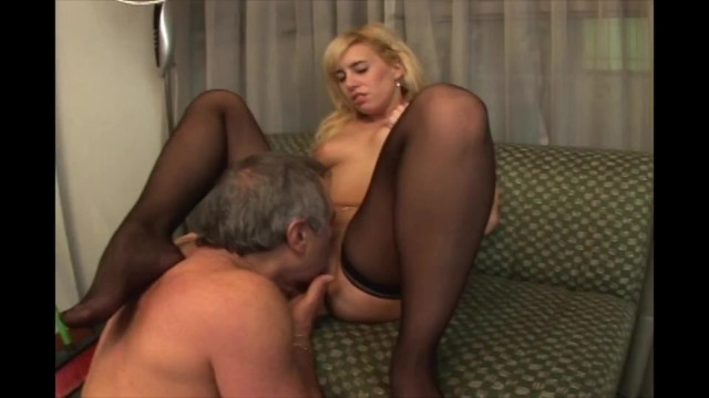 Old man fucks the cleaning girl in the office 17