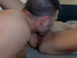 CUNNILINGUS MASTER~ Making her CUM ~ CLOSE UP~ Multiple REAL ORGASMS ~ Loud Moaning – Short Version