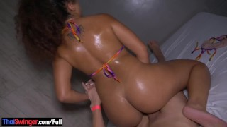 Clip Big butt amateur latina hottie gets her pussy and ass fucked