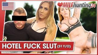 Deepthroat & hard pounding Mia Blow by the MILF Hunter! milfhunting24