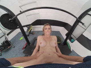 VR BANGERS Big Tits And Juicy Pussy Exercises At The Gym VR Porn