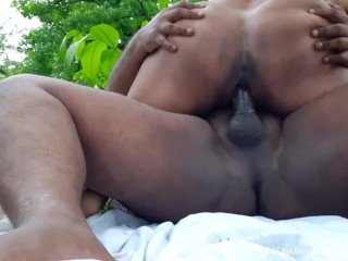 The woods interview outdoor sex car blowjob...
