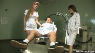 Redhead Bombshell Nurse Faye Reagan Gets Fucked In The Hospital