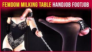 Femdom Milking Table – Handjob and Footjob Teasing Games | Era