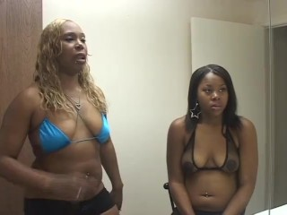 Thick bubble ass african ladies deep throating a...
