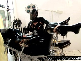Heavy Rubber Latex Piss Fetish - Blowjob Handjob Femdom - Catheter Treatment - Part 1