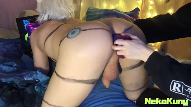 FUCKED FEMBOY WHILE HE WAS PLAYING IN CYBERPUNK 2077