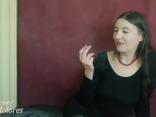 INHALE 54 smoking fetish by Gypsy Dolores