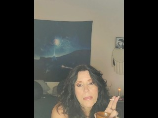 Amateur mature thick MILF denies you pussy til you learn to fuck her whole body w/ smoking