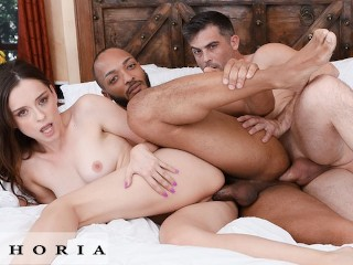 BiPhoria - Wife Shares Bi-Curious Husband With Old College Friend