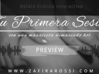[PREVIEW] TU PRIMERA SESION CON MASAJISTA DEMASIADO HOT | RELAXING AUDIO | ASMR | HANDJOB