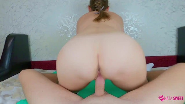 I want my Step Brother to cum while my mom is in the other room and I get dripping creampie in pussy
