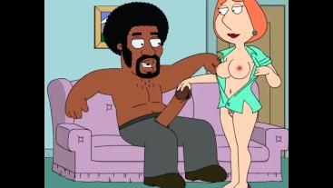 Family Guy - Black Joystick - Lois Sex Cartoon Hentai P64