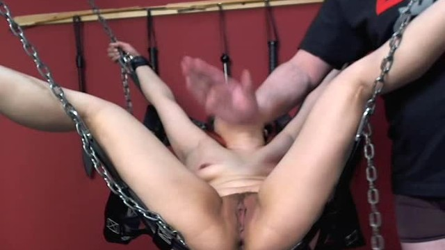 Asian Submissive Gets Beat and Slapped Hard By Male Dom On Tits Pussy and Face 3