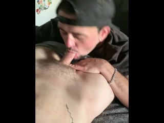 Loved his dick sucked...