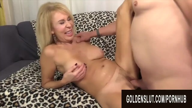 Golden Slut - Perfect GILFs Spreading Wide for Cock Compilation