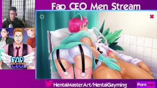 Rear Check up! Fap CEO Men Stream #45 W/HentaiGayming