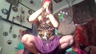 Sexy Arabic Goddess Belly Dancing Striptease veiled to Unveiled Worship her Arab Ass! SFW vintage