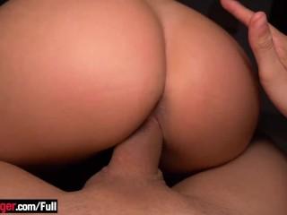 Big boobs blonde latina amateur gets both fucked...