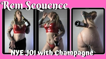 NYE JOI with Champagne - Rem Sequence