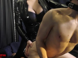 I suit fucked doggystyle obedient guy...