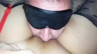 Pussy Eating Orgasm.Closeup view of Pulsating Female Creamy Orgasm